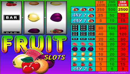 Click for more Slot machines